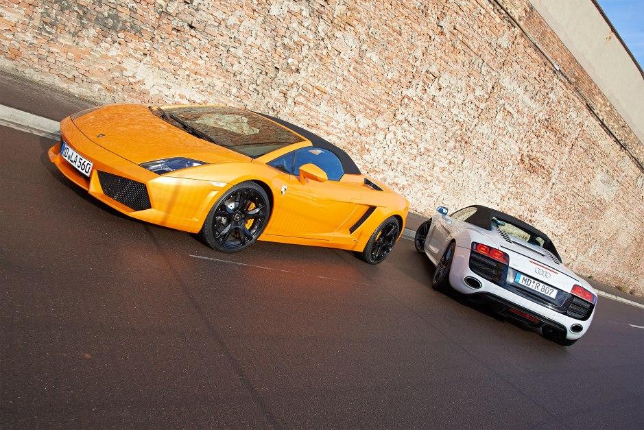 Lambo & Audi